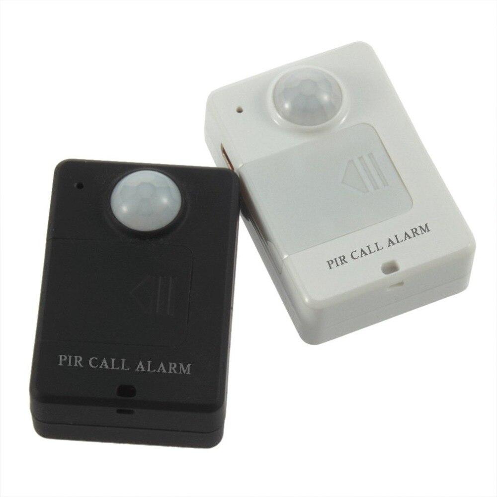 LESHP Mini PIR Alarm Sensor A9 Infrarot GSM Wireless Alarm Hohe Empfindlichkeit Monitor Motion Erkennung Anti-diebstahl EU Stecker