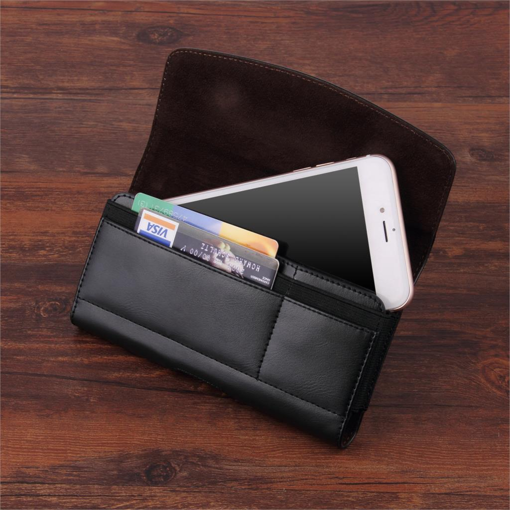 US $7 49 25% OFF|Universal Belt Clip Phone Pouch Leather Case For Cat S48c  S61 S41 S31 S60 S50c Cover With Card Slot-in Phone Pouches from Cellphones