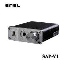 Para Pequeñas y medianas Impedancia SMSL sAp VI caja de aluminio Portátil amplificador de Auriculares AMPLIFICADOR de auriculares Envío Gratis
