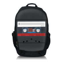 Free Shipping Cassette 15.6 Inch Netbook / Notebook / Laptop Backpack Bag School Travel Sports Bag Bookbag Worldwide