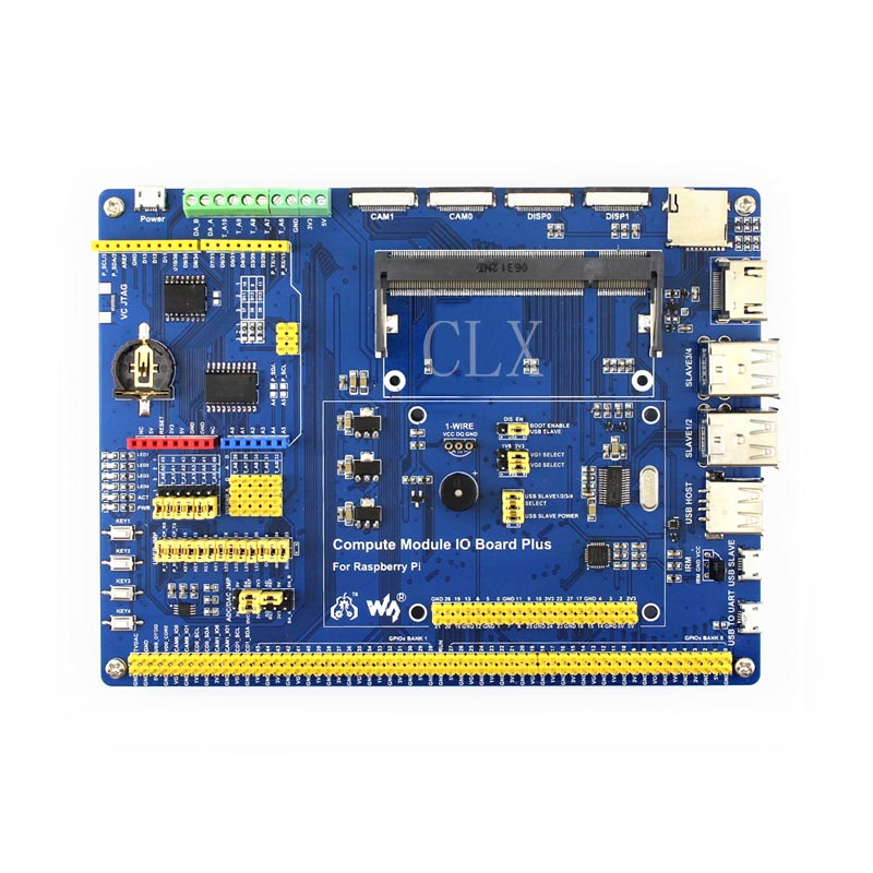 Compute Module IO Board Plus,Composite Breakout Board for Developing with Raspberry Pi CM3, CM3L Various component-in Demo Board Accessories from Computer & Office    3