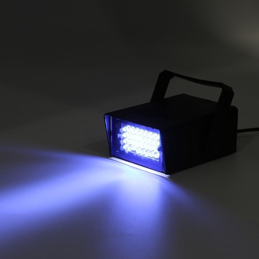 Mini 24 LED Strobe Disco DJ Flash Lamp Club Stage Lighting Bulb Party Bar Brand New