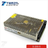 200W 5V 40A Single Output Switching power supply for LED Strip light AC to DC