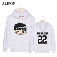 ALIPOP Kpop Korean GOT7 Q Style Album MY SWAGGER Hey Yah ARRIVAL DEPARTURE FLY Cotton Hoodies Hat Pullovers Sweatshirts PT493