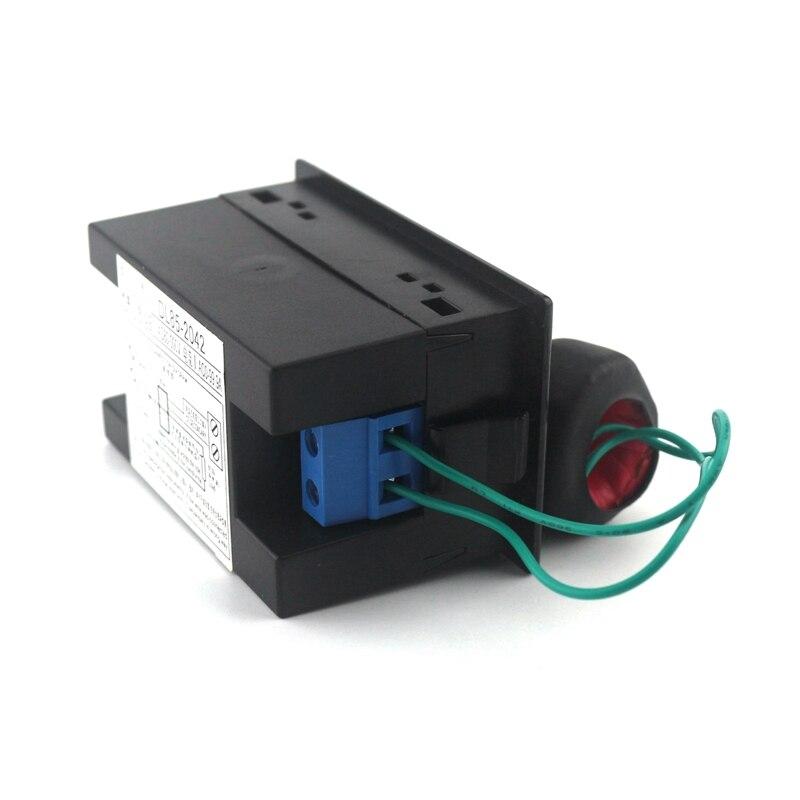 AC80-300V AC 0-100A Led digitális váltóáramú voltmérő - Mérőműszerek - Fénykép 4