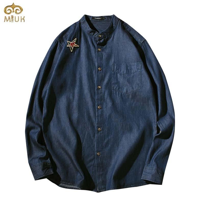 Camisas De Mezclilla De Los Hombres - Compra lotes baratos
