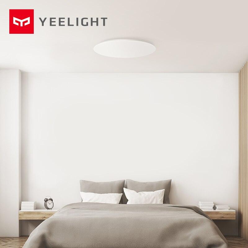 Xiaomi Mijia Yeelight потолочный светильник светодиодный Bluetooth WiFi Пульт дистанционного управления быстрая установка для xiaom Mi home приложение умный дом Комплект - 6