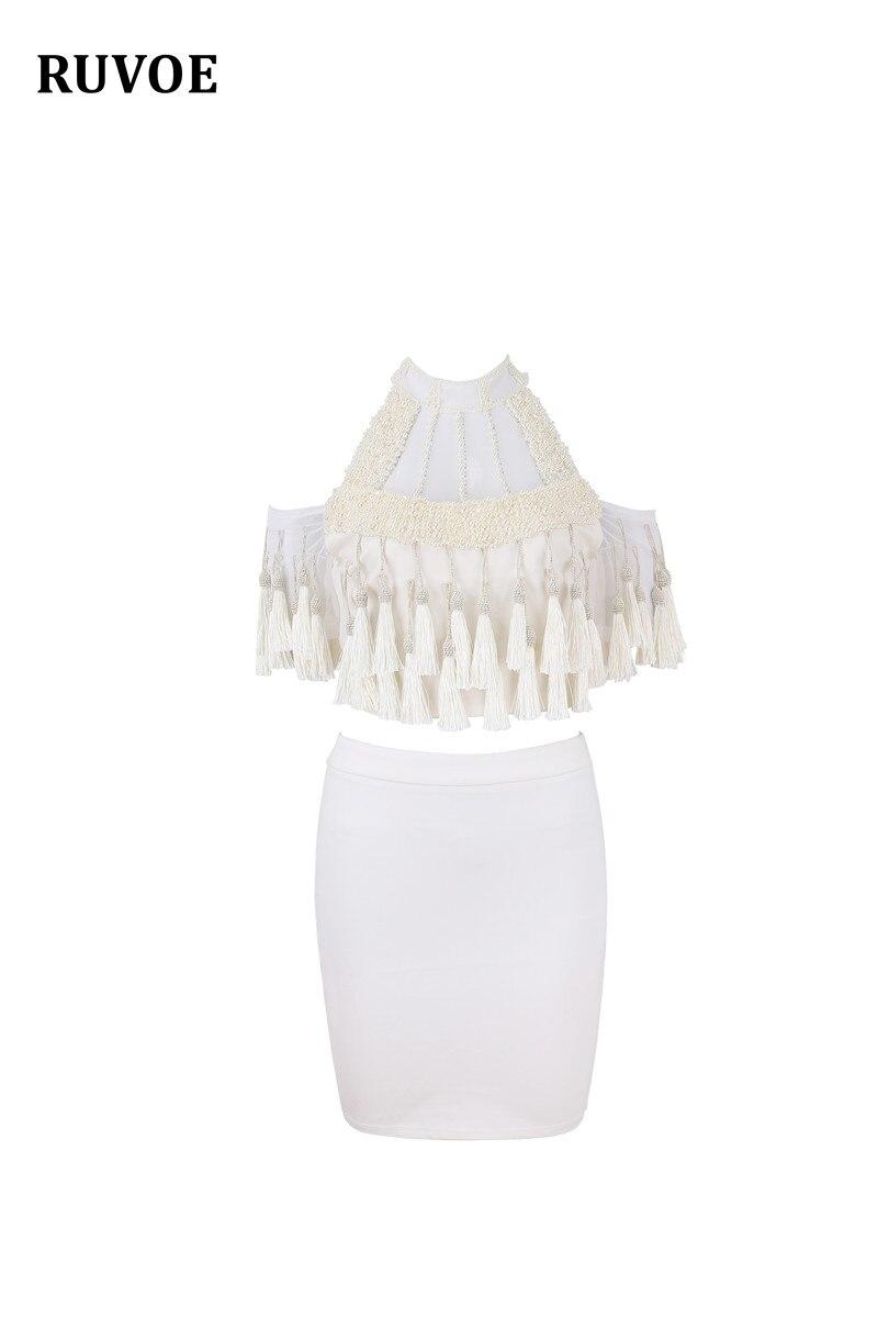 Robe Bandage Femmes Lz Manches Épaule La Soirée 014 Courtes Élégant Main Hors À Mode Blanc Perle Sexy De Clubwear 78B1OO