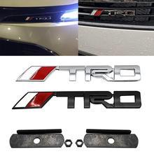 1 шт. модная TRD буква Металлическая Автомобильная решетка Автомобильная наклейка с эмблемой наклейка украшения для Volkswagen Автомобильная эмблема логотип наклейка s