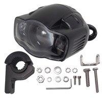 Motorcycle 20W LED Headlight With USB Charge Function Spotlight Fog Light For Honda Haley Yamaha KTM