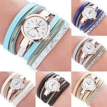 Girls Trend Informal Analog Quartz Girls Watch Bracelet Watch girls watch montre femme reloj mujer wholesale Free delivery A8