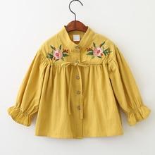 8ce6cb7f48b Блузки И Рубашки с бесплатной доставкой в Одежда для девочек