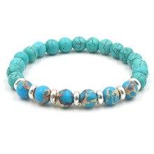 Newst Fashion Style Beaded Bracelet Jewelry Reiki Buddha Prayer Natural Stone Yoga Bracelets For Women Armbanden Voor Vrouwen цена