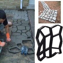 Цементная форма, форма тротуара, прочная форма бетона, прочная тротуарная Черная Форма для производства брусчатки, каменная дорога 36*36 бетон