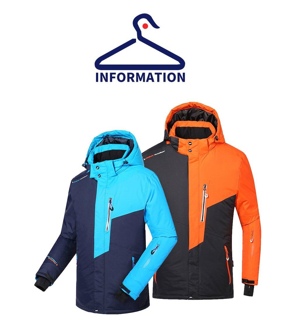 esqui térmico outwear jaqueta + calça à