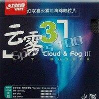 DHS Cloud & Fog III (Cloud & Fog3) pingpong tênis de mesa longas espinhas fora folha de topo (borracha sem esponja) a nova listagem