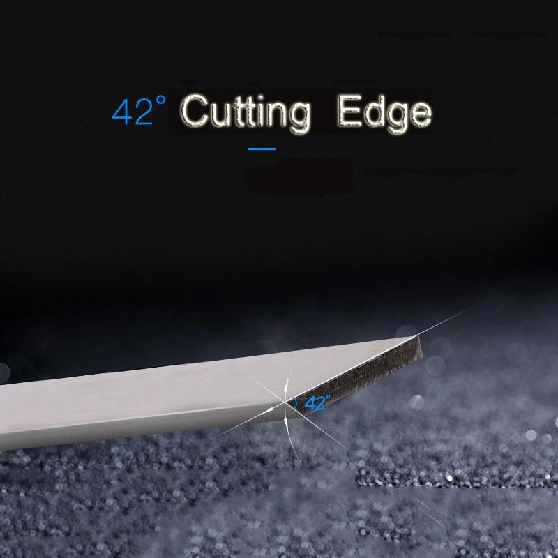 Купить с кэшбэком LEABON 310x30x3x1.0mm  TCT Inlay Alloy Wood Planer Blades Woodworking Power Tools