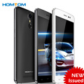 Ht27 homtom smartphone 3g teléfono 5.5 pulgadas de pantalla hd mtk6580 quad core android 6.0 1 gb + 8 gb 8.0mp + 5.0mp 3000 mah batería del teléfono móvil