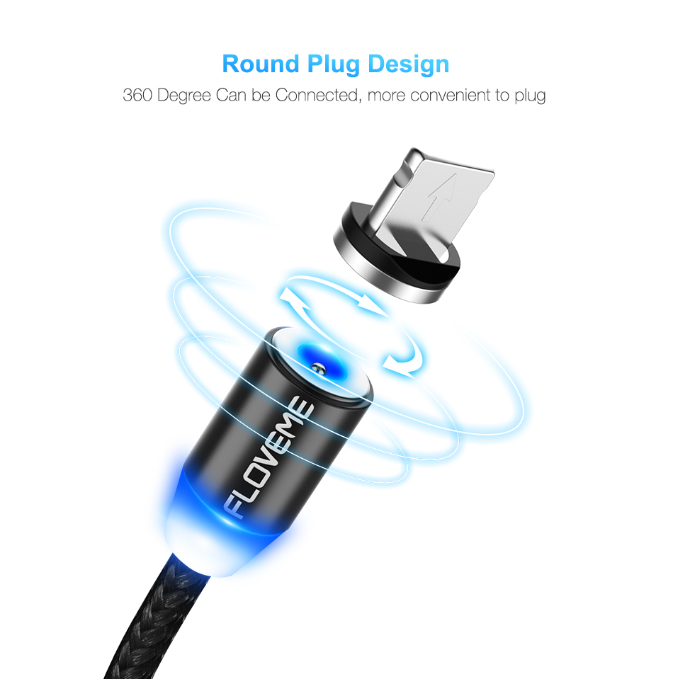 HTB1GC6hawjN8KJjSZFgq6zjbVXa9 - New Universal 1m Braided Micro USB LED Connector Charger Cable