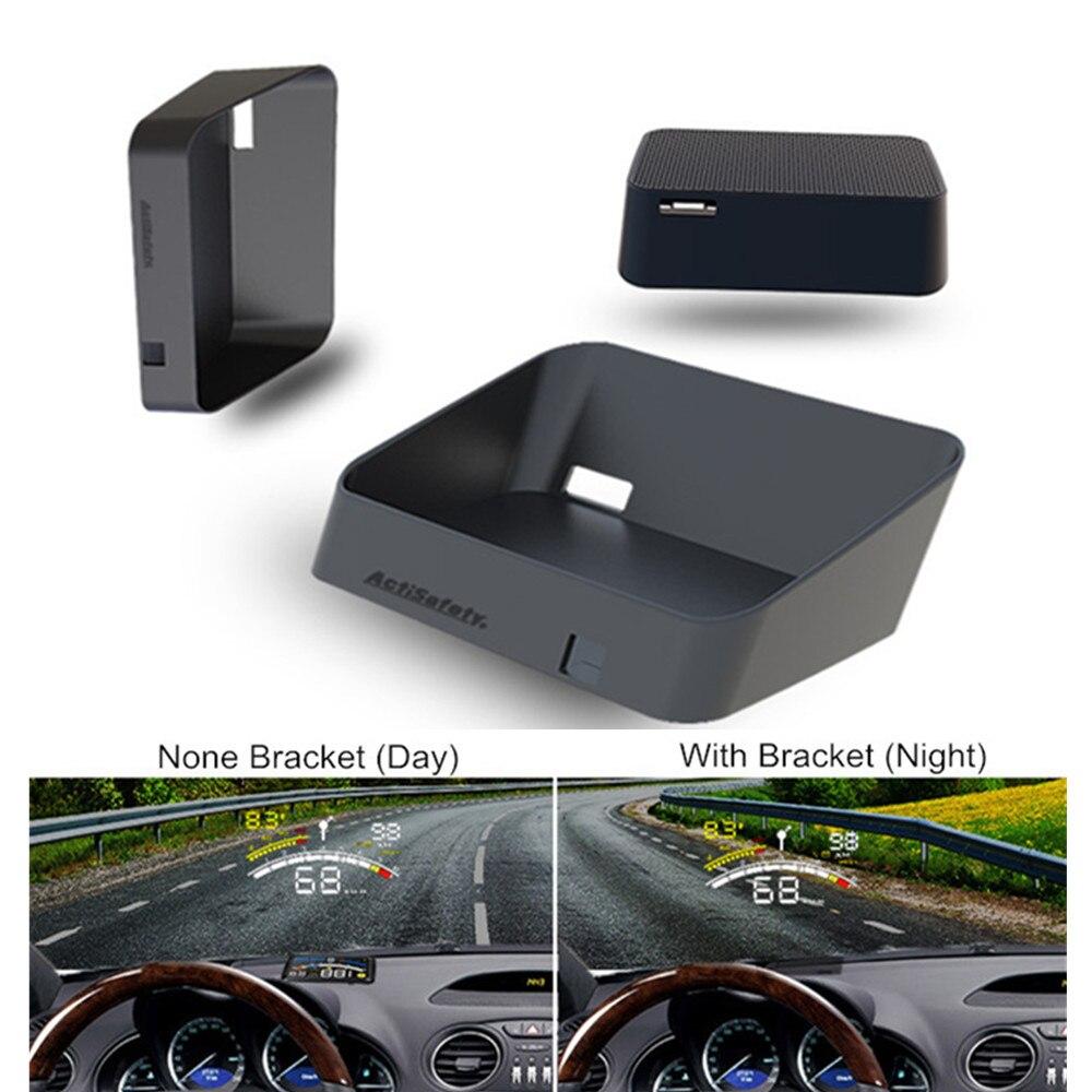 ActiSafety 5.5 Car HUD Holder Bracket OBDII OBD2 Port Head Up Display Brackets Hood for ASH-4C/ASH-4C-2015/ASH-4E Car HUD auto obdii car hud obd2 port head up display support most eu