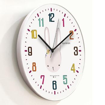 Dibujos Animados pared Saatk diseño moderno Saatks para decoración del  hogar niños silencioso Nixie reloj cocina Saat Duvar Saatks klock ...