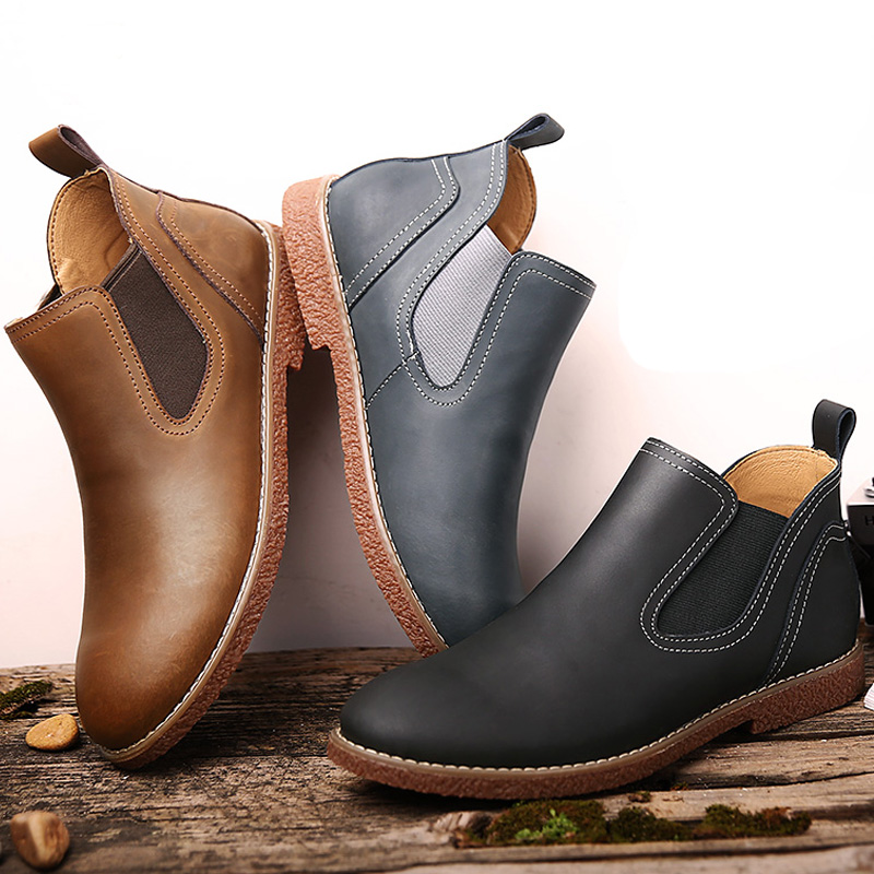 Popular Short Boots Men-Buy Cheap Short Boots Men lots from China ...