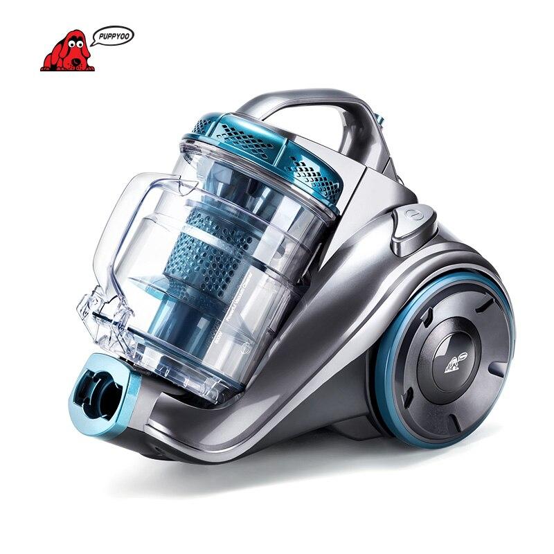Aspirateur à cartouche Standard PUPPYOO Europe à efficacité énergétique pour aspirateur Cyclone multi-système domestique WP9002F