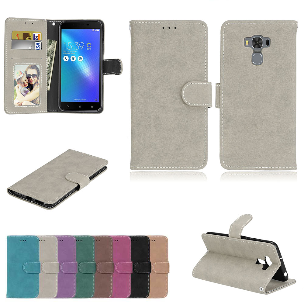 for <font><b>ASUS</b></font> ZC553KL Case Zenfone 3 Max ZC553 <font><b>ZC</b></font> <font><b>553</b></font> <font><b>KL</b></font> 553KL for <font><b>ASUS</b></font> X00DD X00DDA XOODD <font><b>ASUS</b></font>_X00DD Cover Phone Flip leather BAG image