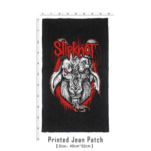 Image 3 - Bloodhoof Store Slipknot Rock And Roll Death Heavy Hardcore Punk Style Patch Designs Denim Jeans mens Jackets And Coats