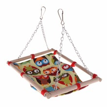 Parrot Hammock Cage-Accessories Swing-Toys Bird-Supplies Hamster Parakeet-Bed Hanging