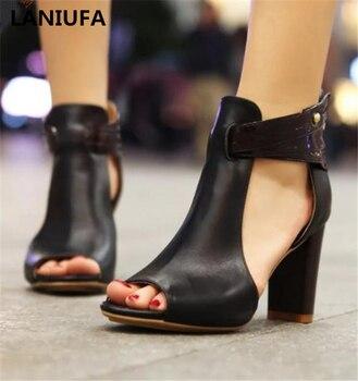 8676a3bb Nuevos zapatos de tacón alto para mujer, zapatos de tacón alto, zapatos de  boda, sandalias para mujer, talla grande 34-43 y 215