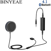 Bluetooth 4,1 CSR8635 громкой связи Aux 3,5 мм USB Car Kit стерео аудио приемник Музыка Авто адаптер с Gound цикл изолятор