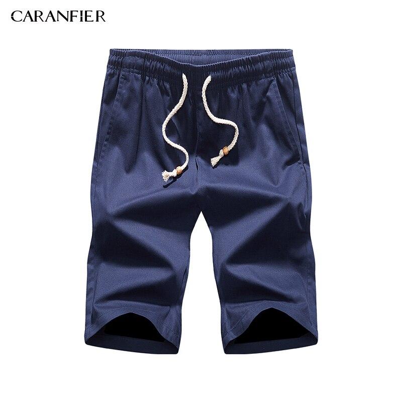 CARANFIER 2017 D'été Coton Hommes Shorts De Mode Nouvelle Marque Respirant Mâle Casual Confortable Cool Shorts M ~ 4XL
