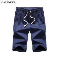 CARANFIER 100 Cotton Shorts Men Fashion Brand Breathable Male Casual Shorts Plus Size 5XL Cool Short