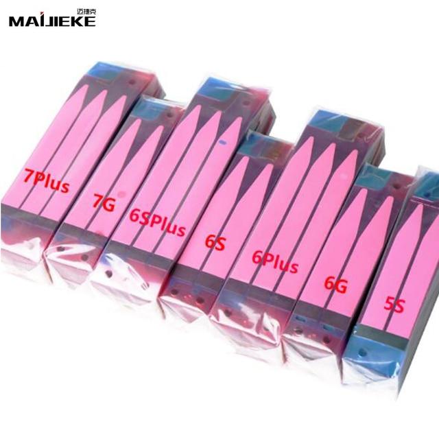 500 pcs batterie originale bandes adhésives autocollantes pour iPhone 5 5 s 5c 6 6 s 7 8 plus X Double bande tirer voyage colle pièces de rechange