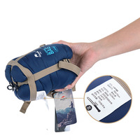 5 Colors NatureHike Mini Ultralight Multifuntion Portable Outdoor Envelope Sleeping Bag Travel Bag Hiking Camping Equipment