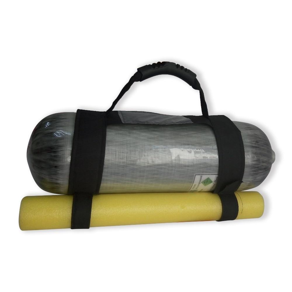 ACECARE airsoft pistolets à air pcp poignée de réservoir d'air mini réservoir de plongée en carbone réservoir d'air main pour cylindres haute pression accessoires pcp