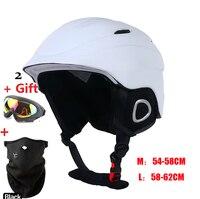 Arrive in 18 29 days! Skiing Snowboard Helmet Integrally molded Ultralight Breathable MOON Ski Helmet Women Men CE Quality