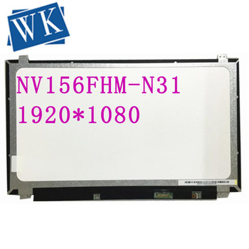 Free Shipping NV156FHM-N31 NV156FHM N31 LP156WF4 SPL1 SPL2 SPK1 1920*1080 EDP 30PIN IPS LED PANEL SCREEN