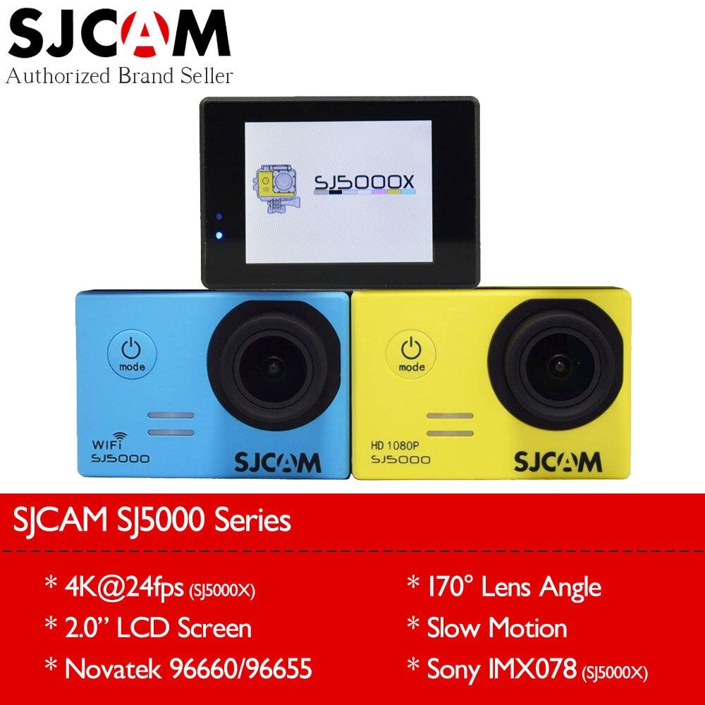 Original SJCAM SJ5000 Series Action Video Camera SJ5000X 4K Elite / SJ5000 Wifi / SJ5000 Basic Mini Outdoor Sport Camcorder DV sport elite se 2450