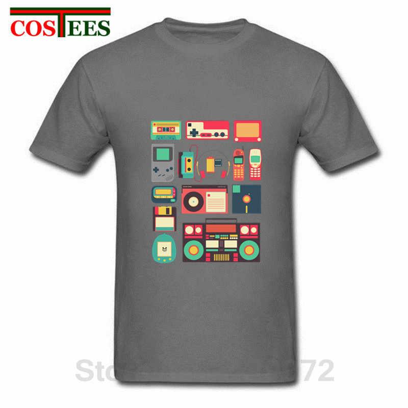 pre order great quality new design RETRO TECHNOLOGY Men T Shirt homme 2018 Vintage Short Sleeve Cool Music  Cheap Clothing Luxury Brand Mens Techno t-shirt Camiseta