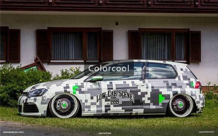 Կամոֆլաժի պատվերով մեքենայի կպչուն - Ավտոմեքենայի արտաքին պարագաներ - Լուսանկար 4