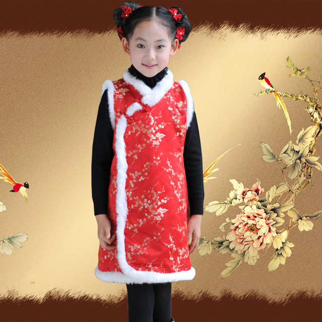 Child 2012 female child tang suit cheongsam skirt chinese style female child princess clothes