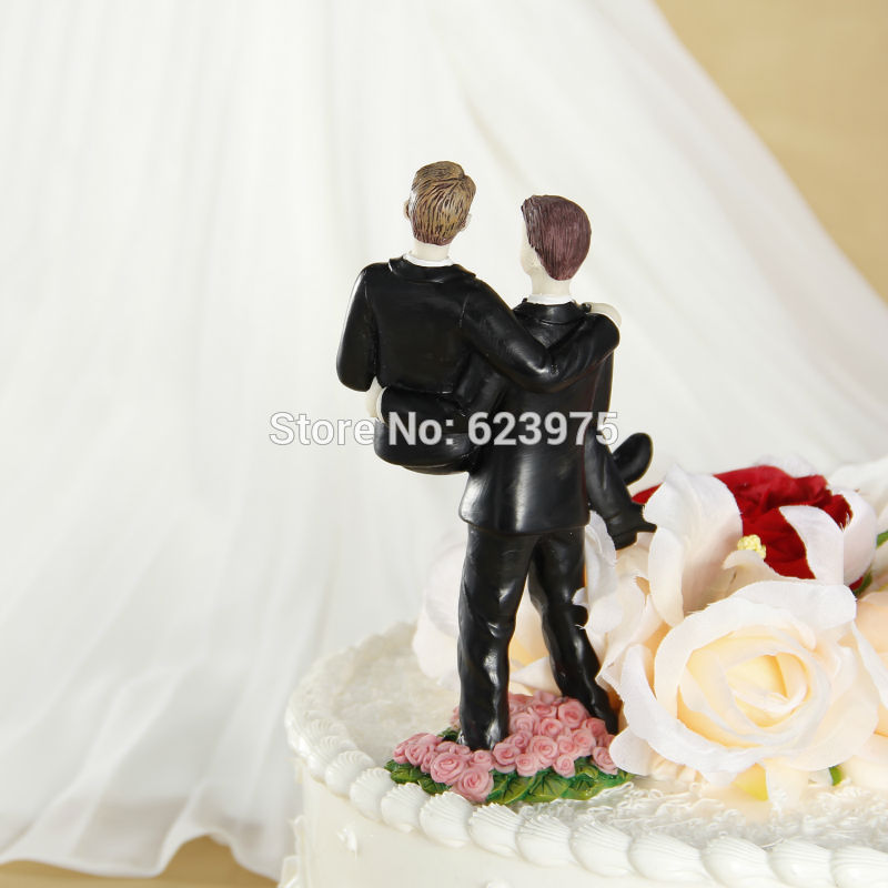 Gay Wedding Figurine Cake Topper In Decorating Supplies From Home Garden On Aliexpress