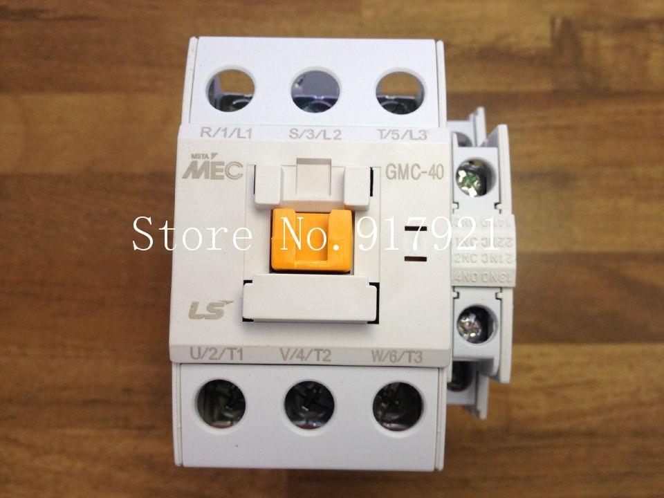 [ZOB] South Korea's original MEC GMC-40 power 220V AC contactor to ensure genuine fake a lose ten  --3pcs/lot
