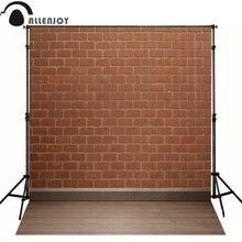 AllEnjoy fotografie achtergronden Donker rode baksteen vloer mozaïek kids fotografische studio professionele stof nieuwe ontwerp interessante