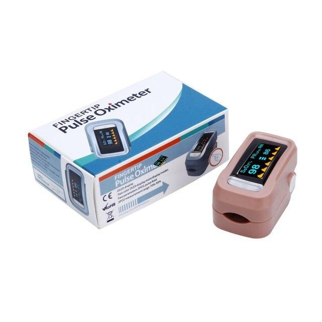 Новый Палец Пульсоксиметр Oximetro Монитор Артериального Давления Пульса Портативный Диагностический Инструмент Медицинское Оборудование