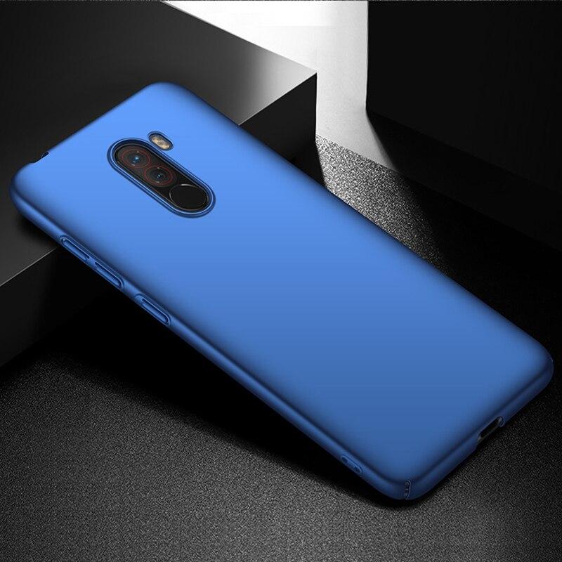 For-Xiaomi-Pocophone-F1-Case-Hard-Matte-Back-Cover-Pocofone-Poco-F1-Slim-Shockproof-Skin-Single (4)