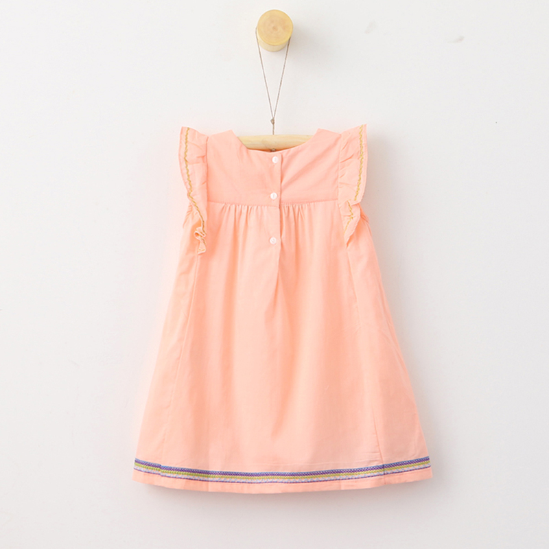 Baby Clothes Embroidery Designs   Bear Leader Girls Dresses 2018 Summer Style Sleeveless Children