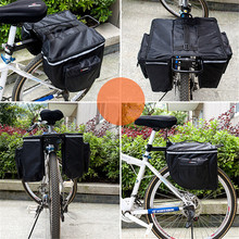 Wholesale Double Side Rear Back Bag Waterproof Mouantain & Road Tail Seat Bag Nylon Fabric with Polyester Saddle Bag
